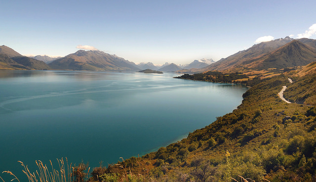 Middle Earth, aka New Zealand.