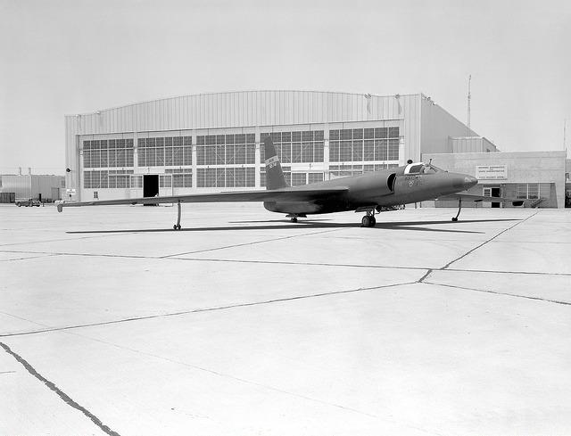 CIA spy plane, circa early 1960s.
