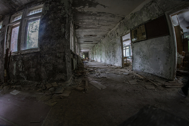 Chernobyl 30 years later.