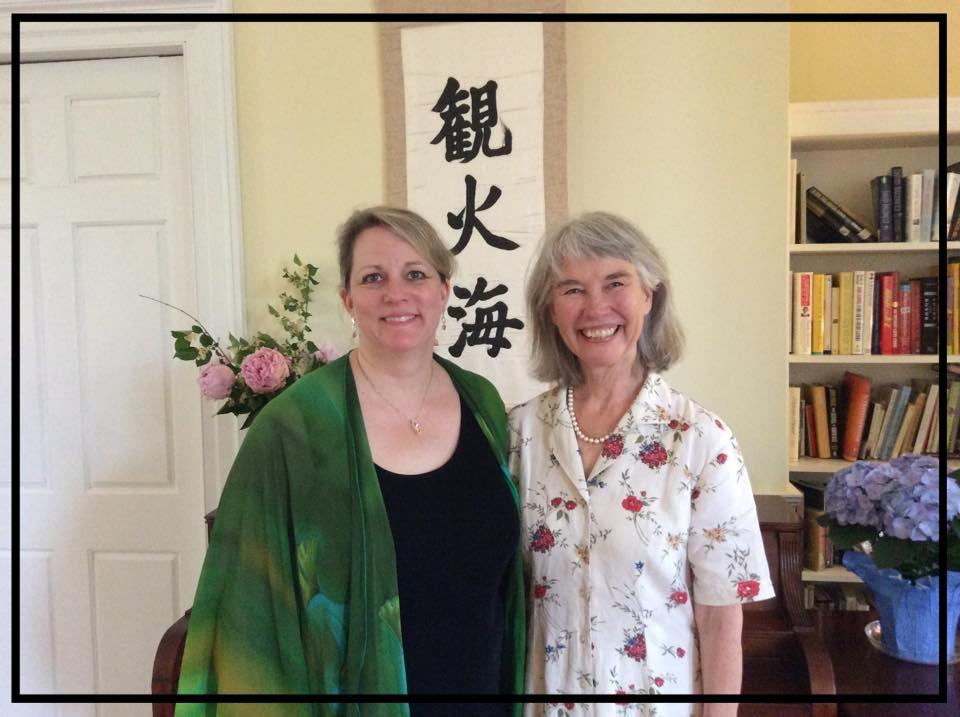 Robyn with Martha Fertman