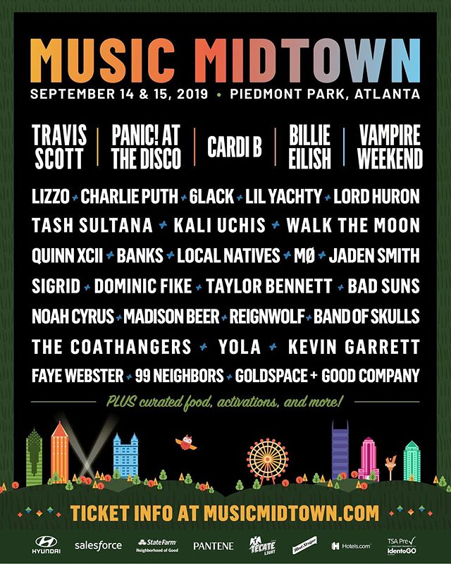 Catch us in ATL at @musicmidtown this September! tickets on sale now in bio