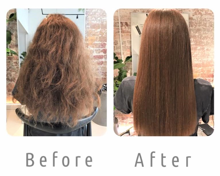 MORGAN Keratin Smoothing System Before and After   Click Here  to see more of our work