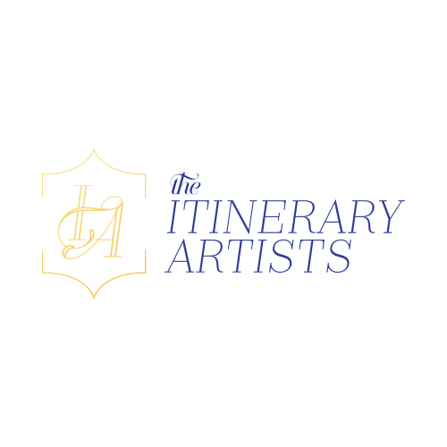 Logo, Brand, Social Media  The itinerary artists   view case study