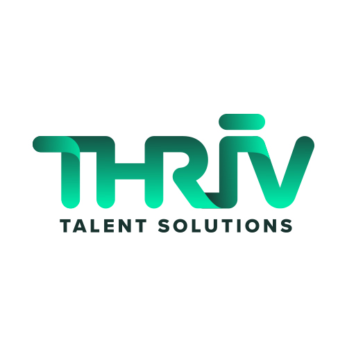 Logo, Brand, Web Design  Thriv talent solutions  case study coming soon