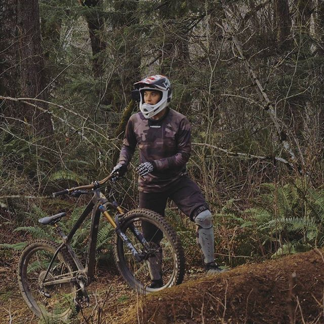 New video coming tomorrow, full send on the hardtail #fullsend #hardtail #mtb #freeride