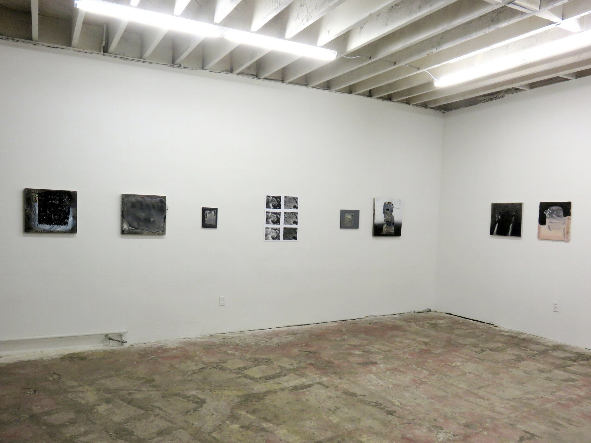 Installation view,2017   The Back of Something Missing   Ms. Barbers Gallery