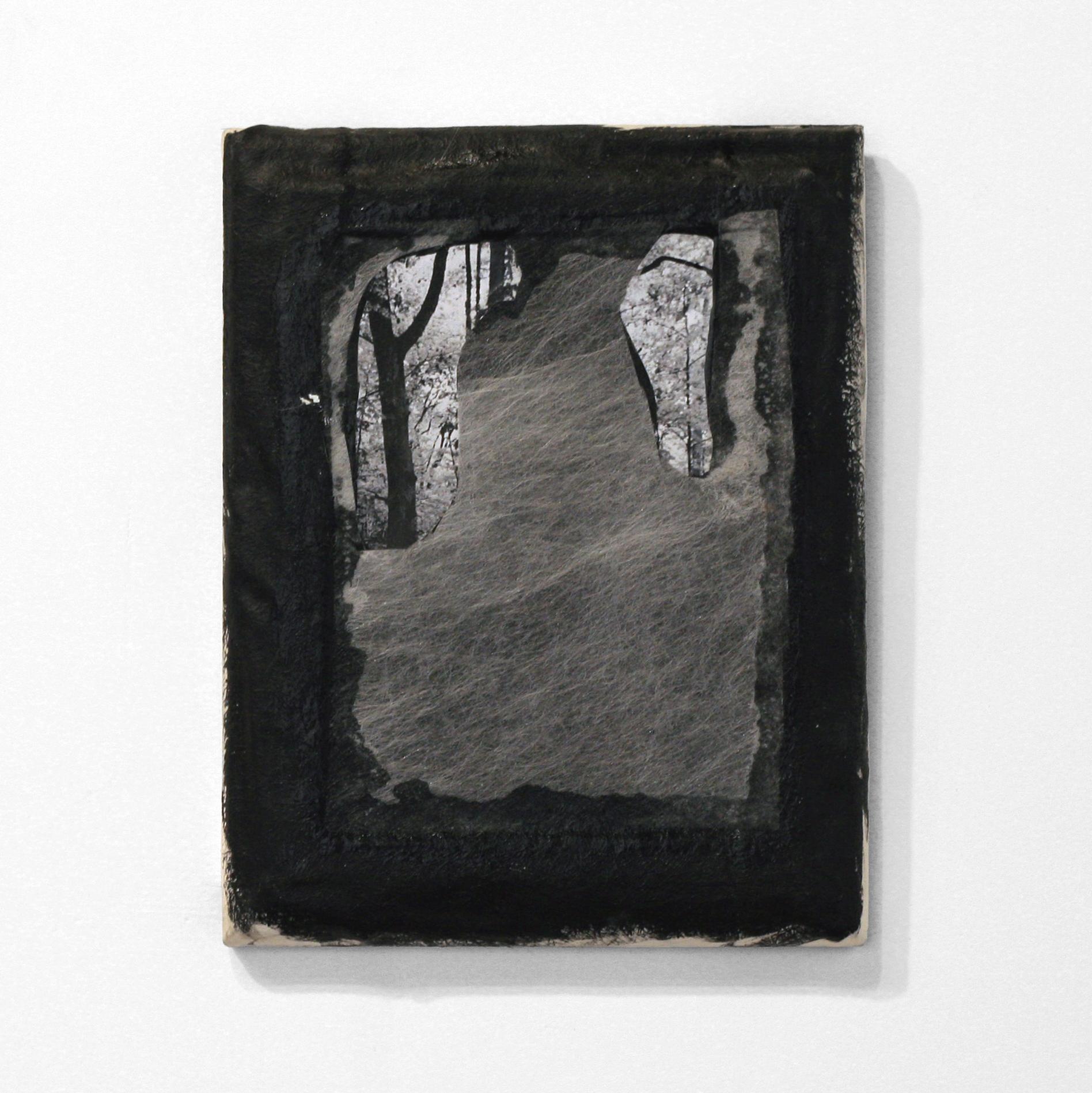 """The Recent Past (II), 2014  resin, fiberglas, mixed media  7.5 x 9.5"""""""
