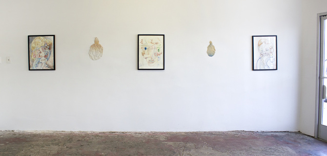 Installation view,2016   Wry & Dry   Ms. Barbers Gallery