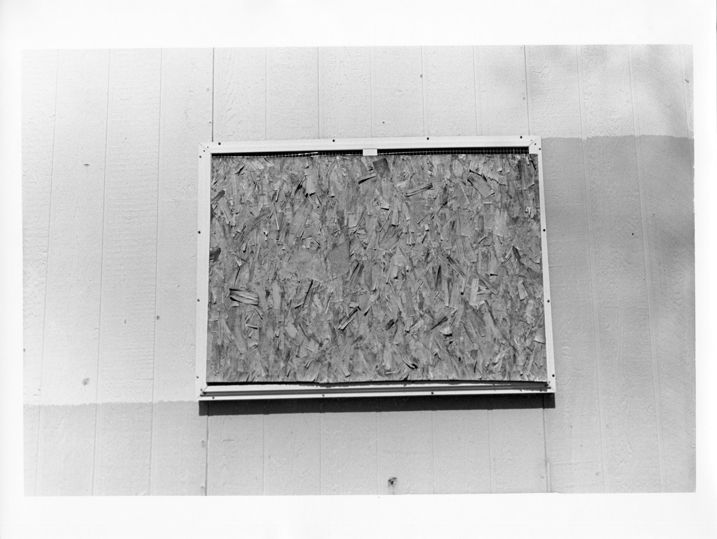 """Window (I), 2011  silver gelatin print  8 x 10"""""""