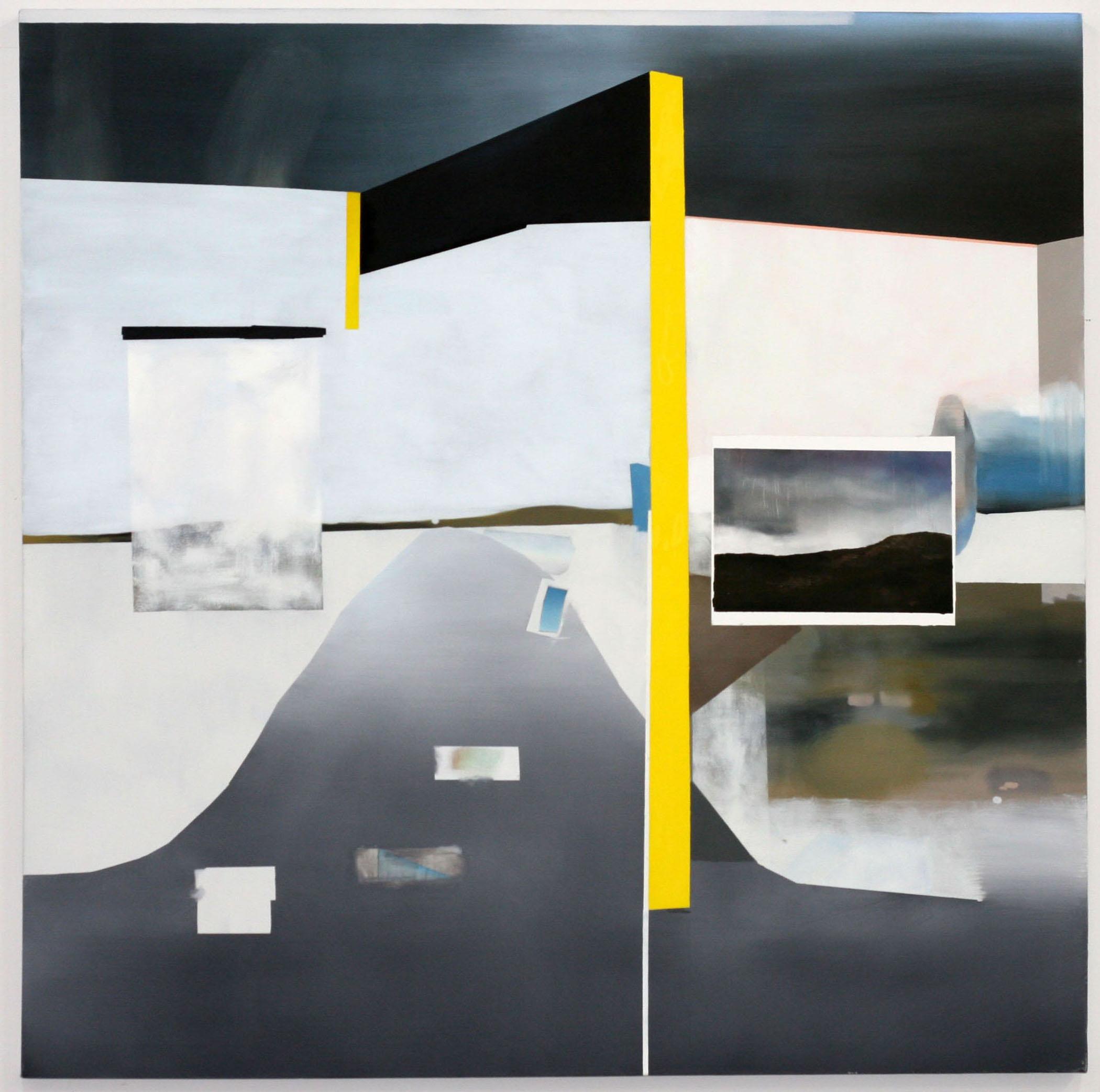 """California City, 2009  oil on canvas  48 x 48"""""""