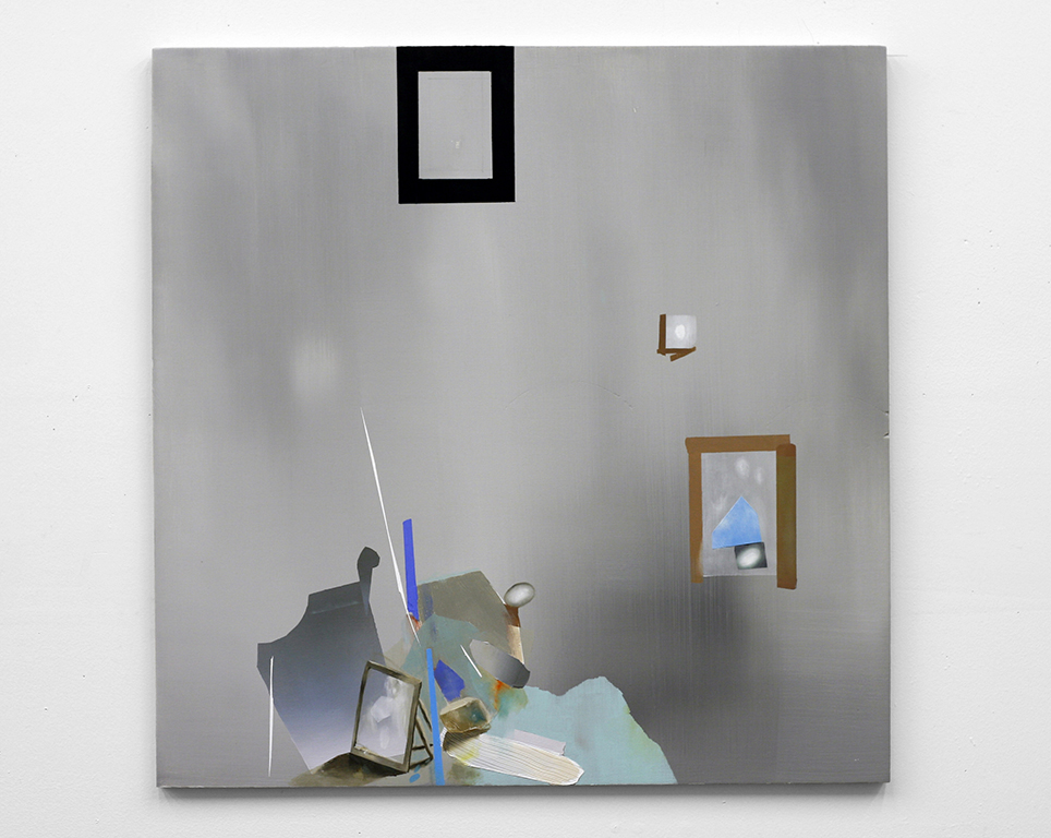 """Untitled, 2008  oil on wood  24"""" x 24"""""""