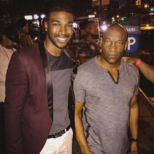 "So heartbroken to hear the news of @johnsingleton passing today. His body of work, especially ""Boyz n the Hood"" and ""Poetic Justice"" were the  soundtracks of my childhood and pivotal films that addressed and spread awareness for many issues largely ignored by the American public that Blacks had to regularly face, my family included. Meeting him 2 years ago at a NYC screening of @snowfallfx gave me the chance to express my gratitude for his political and social activism through film. It hurts so bad that such a powerful voice within our community has been called home so soon. @johnsingleton may you rest in paradise. Thank you for sharing your voice, vision, and tenacious spirit with us all. #RIP #JohnSingleton #RestInParadise #BoyzNTheHood #PoeticJustic #Snowfallfx 😞💔🙏🏾"