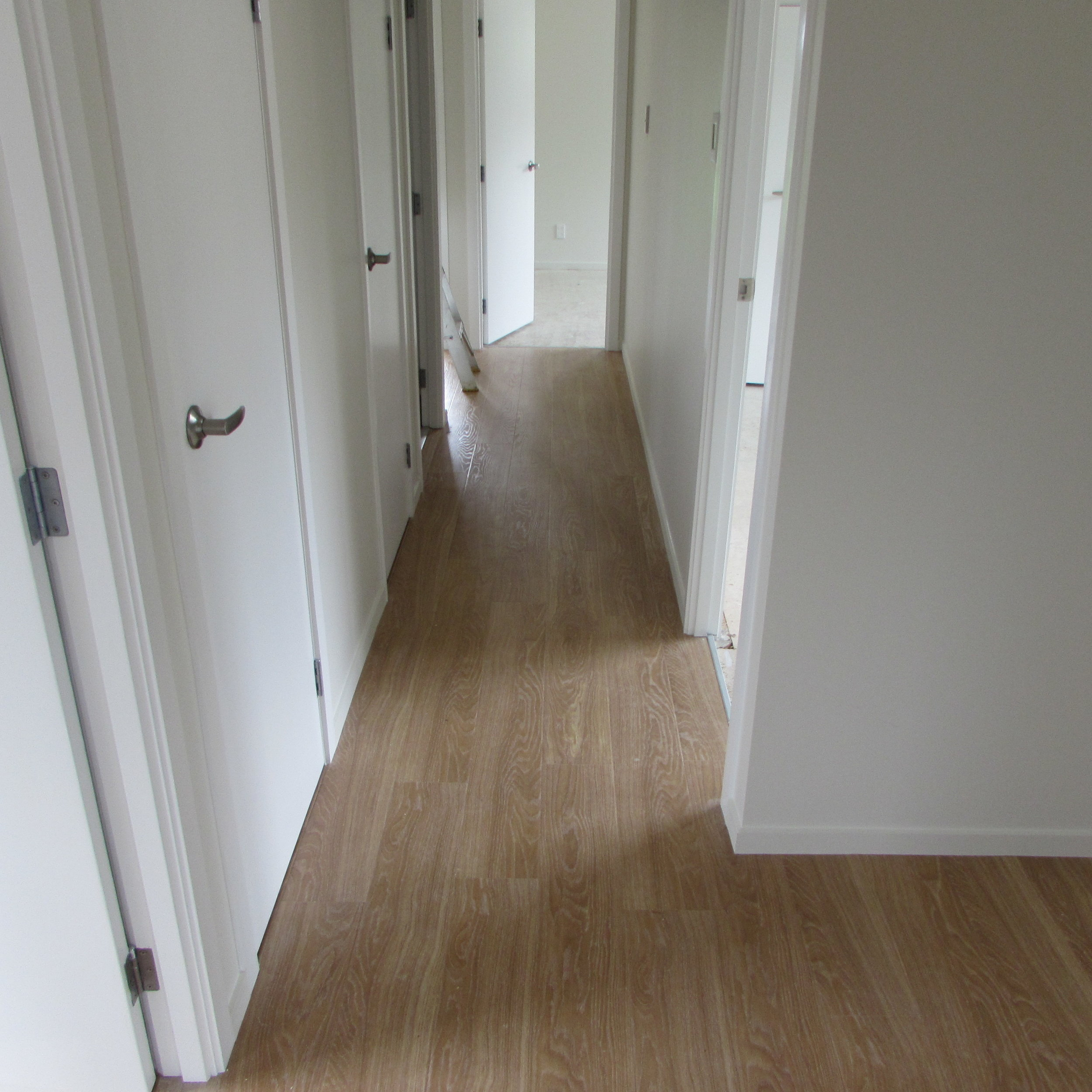Existing property hallway after