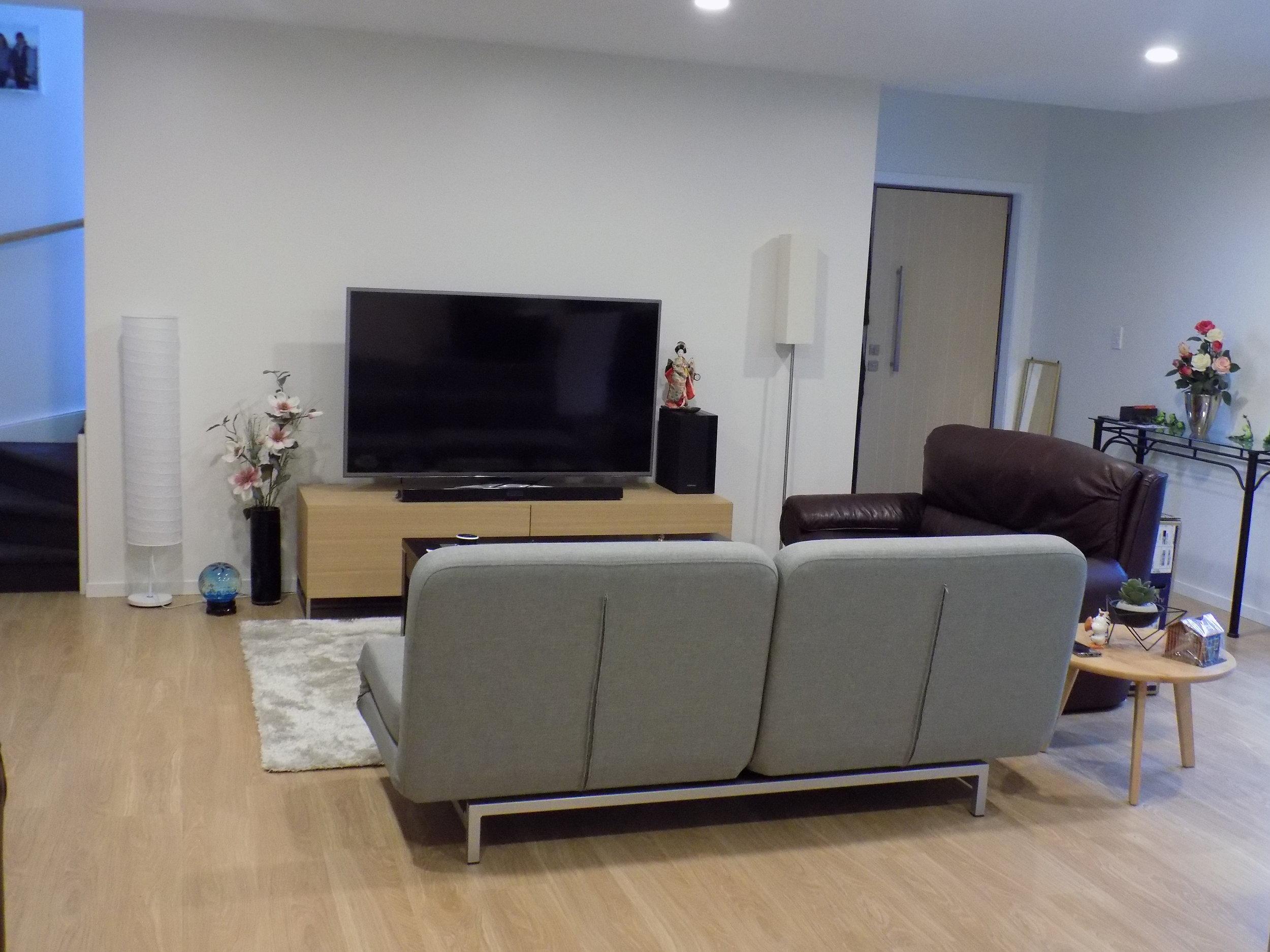 New dwelling lounge
