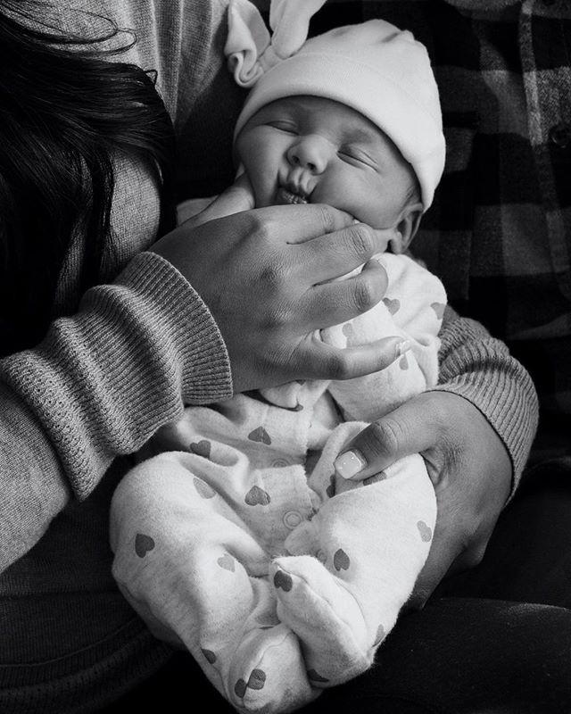 Meet our little squishy baby😍 💛Olivia Rosemarie Spaulding💛 4/2/19 7lb 3oz 4:08am . . . 📸: @meghandevelyn