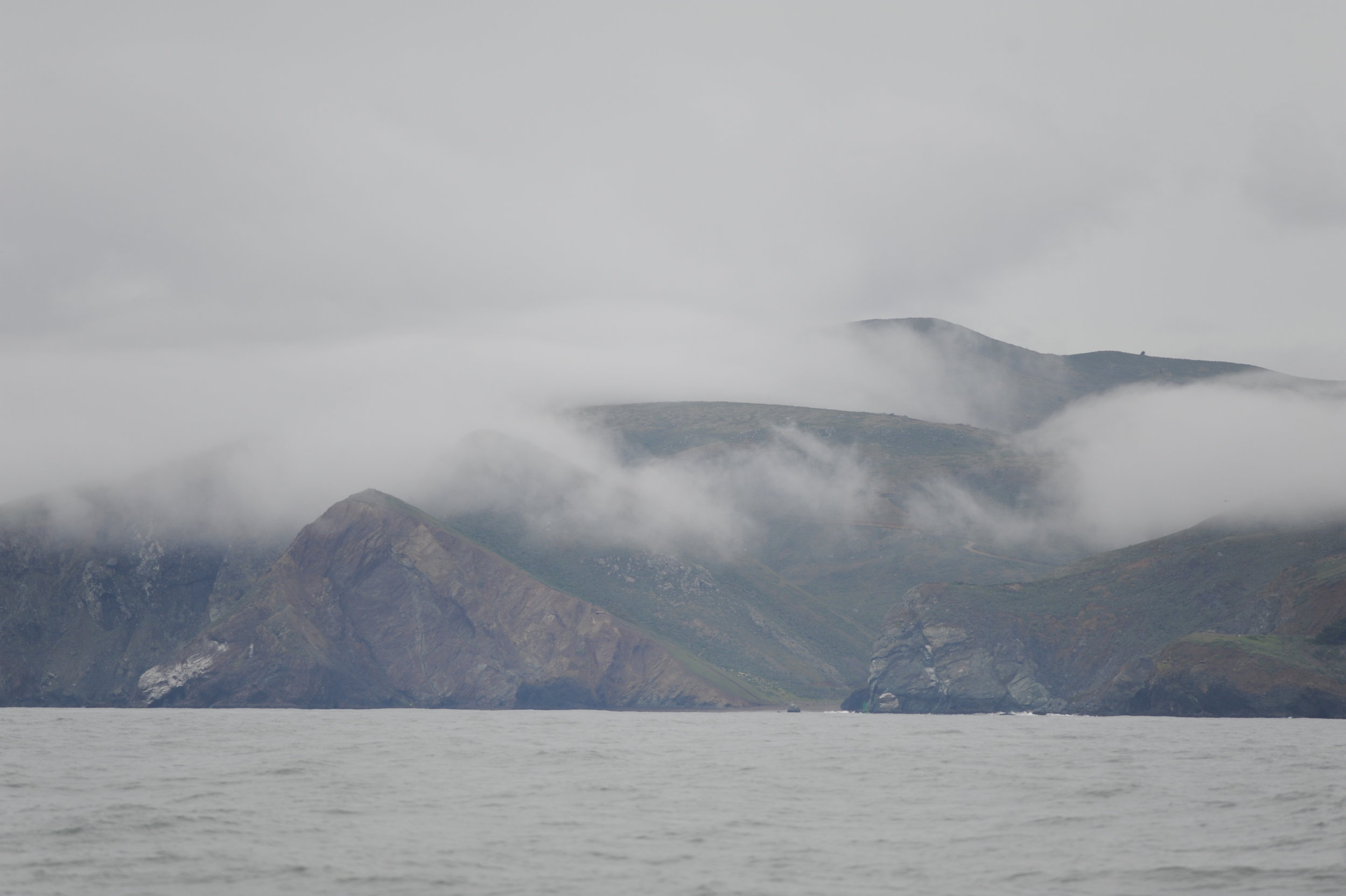 Clouds over Marin.