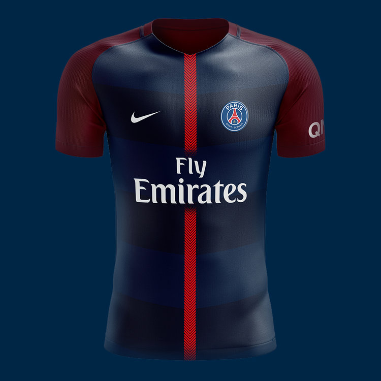 - F.C. PSG - Kit 2018/19 Design