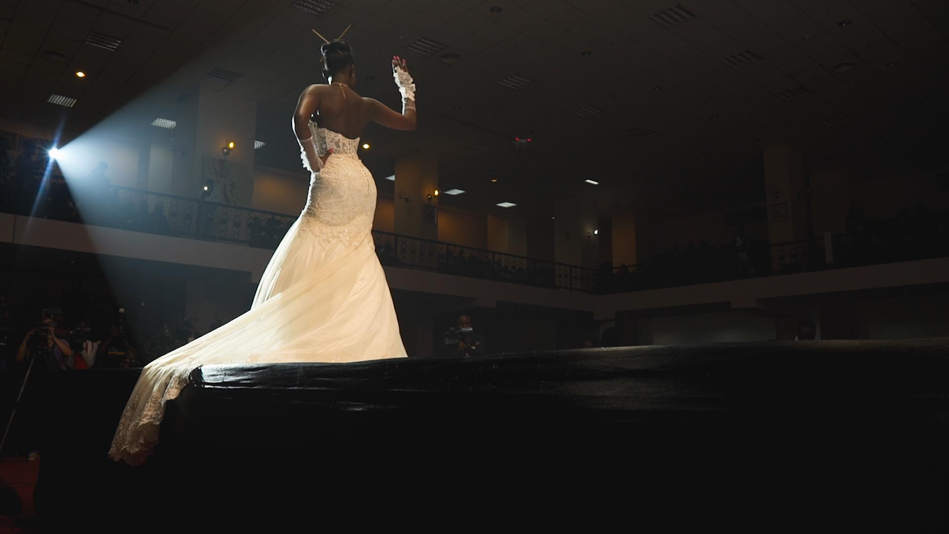 Contestant Two in wedding dress walk0.jpg