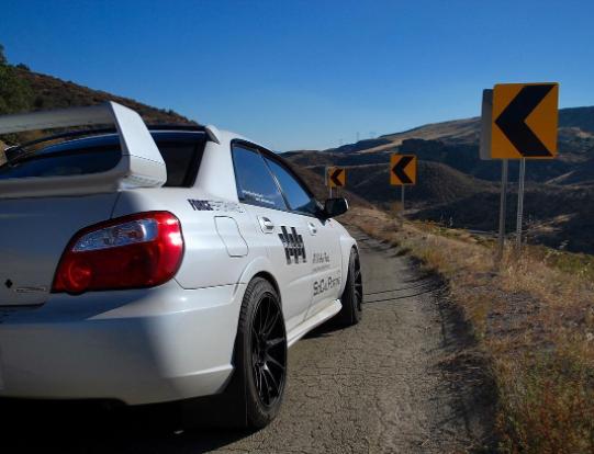 2007 Subaru wrx sti  Auto X / Canyon carving Subaru STi built around handling alone.