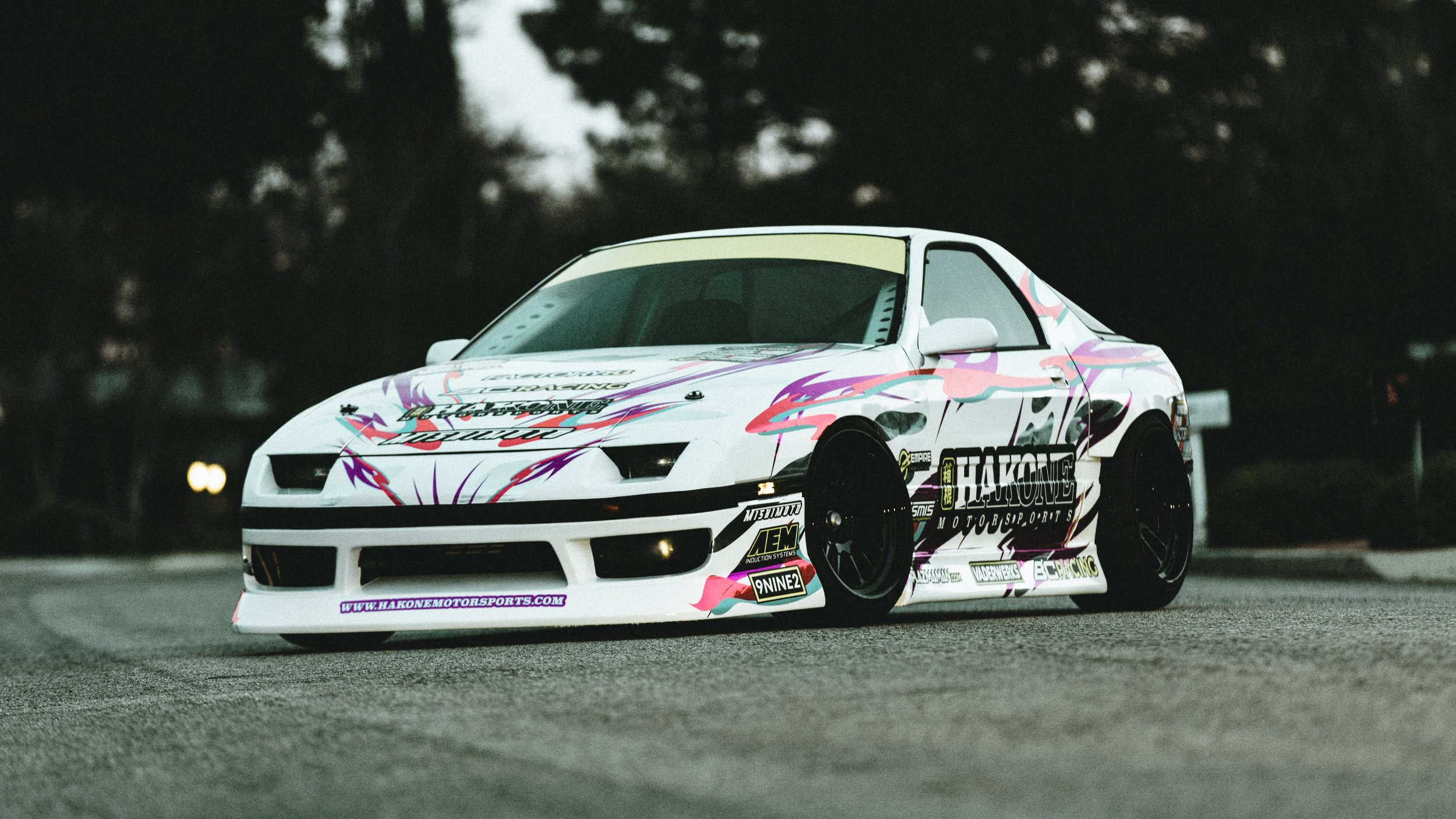 1992 Mazda RX-7  Drift inspired FC chassis with an RB25DET under the hood.