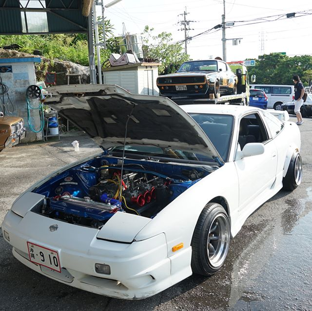 Don't know what's more intriguing, an L28 swapped S13 or a 13b swapped KPC110.