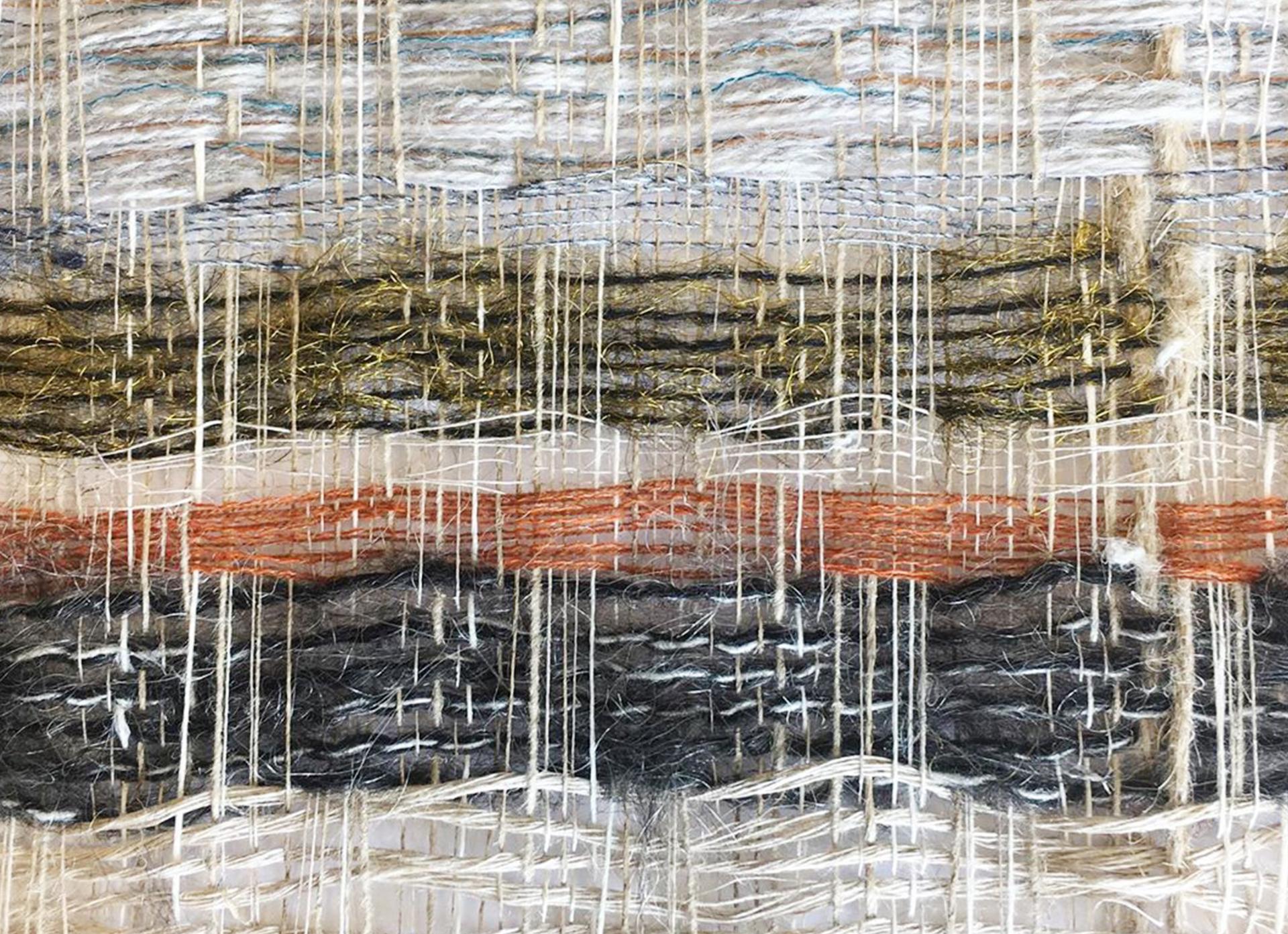 weaving artist Veronica Pock details