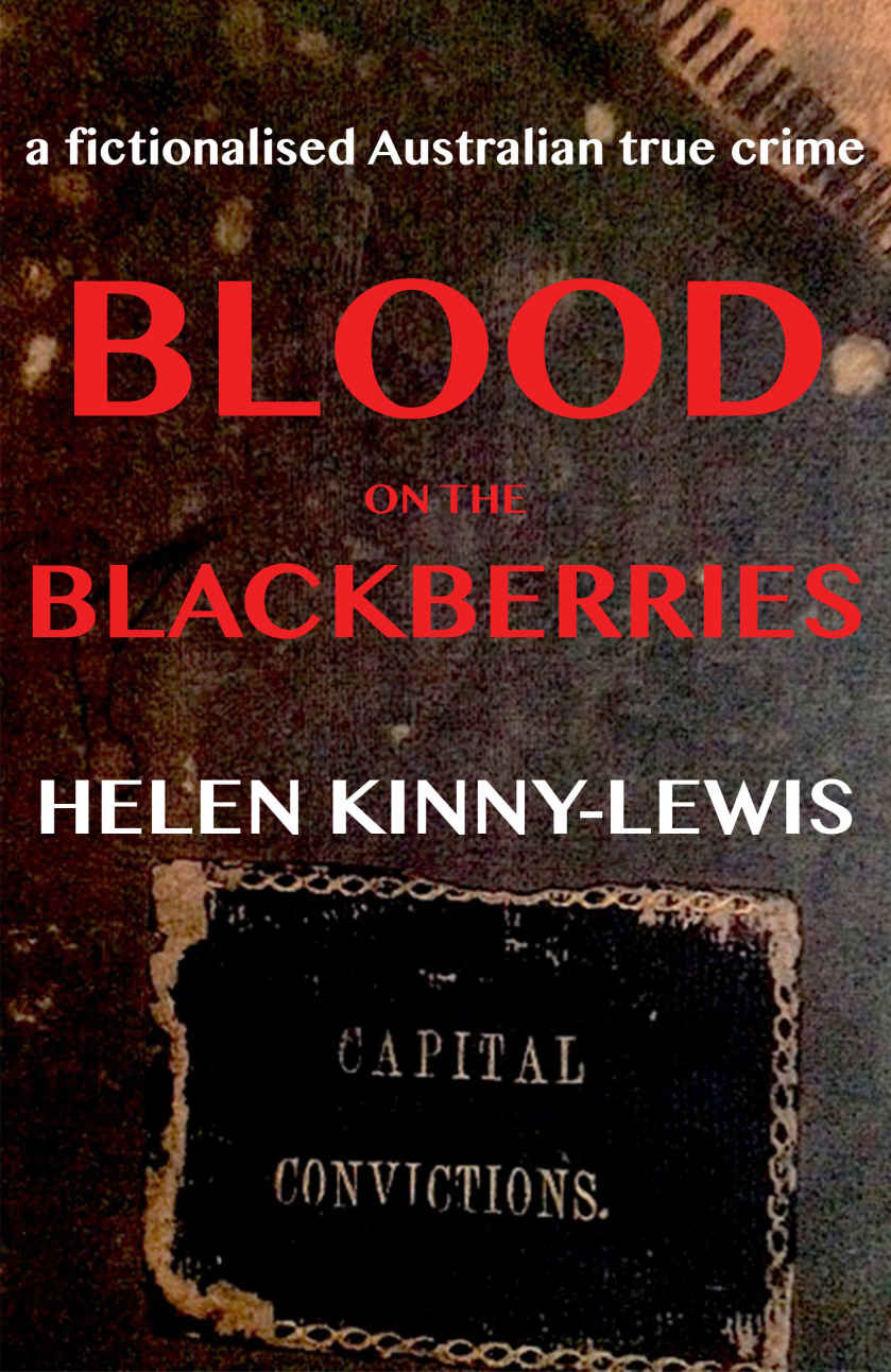 """Blood on the Blackberries  is passionately and sensitively written and is a carefully researched narrative of the criminological, social and familial outcome of two brutal murders in Australia in 1939. This fictionalised true crime is set in the New England district of New South Wales. The victims, two sisters were picking blackberries at the time.  In his summation at the coroner's inquest, Dr A.H. McTaggert stated: """"It places this among the most brutal murders in the history of the state.""""   Buy the book here."""