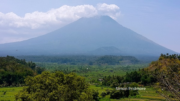 Mount Agung is central to Bali's cultural and religious beliefs.