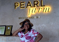 Aida Day discovers a gem of a resort on Samal Island - Pearl Farm Beach Resort that is closely linked to aquaculture of pearls.