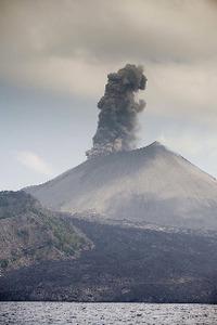 Nature's might: Barren Island active volcano
