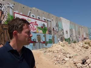 At Kalandia checkpoint, between Israel and the West Bank.