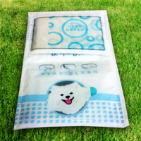 PicknBin wet wipes for on-the-go cleaning