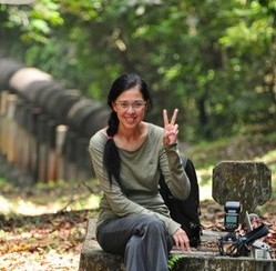 Vilma D'Rozario, co-founder of the Cicada Tree Eco-Place. Photo credit: Yeo Suay Hwee.