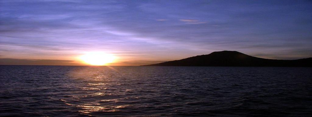 Sunrise in Camiguin.