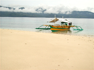 White sands at Waniban Island