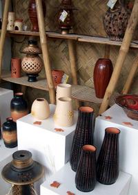 Philippine handmade ceramics or coron.