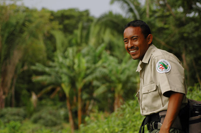 Chaa Creek's guides know their jungle - but bring smiles along with dangerous animals!