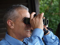 Dr Djoghlaf zooms in on biodiversity wherever he goes. Source NParks