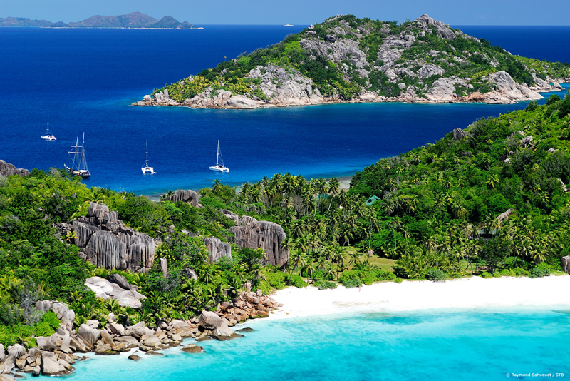 Grande-Soeur, an island in the Seychelles archipelago.