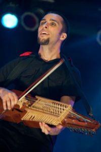 Portuguese bouzouki - half bass, half guitar.