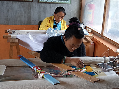 Embroidery school at Baisha