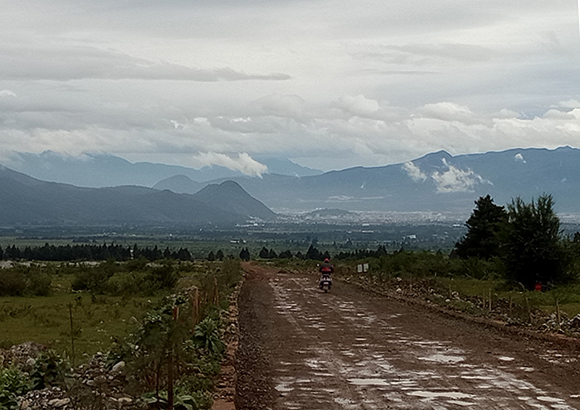 View of Lijiang in Kayti Denham's off-the-beaten track journey to experience culture & nature