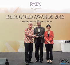 The PATA Award Ceremony last year —This year's ceremony will be on 15 September 2017 during PATA Travel Mart 2017
