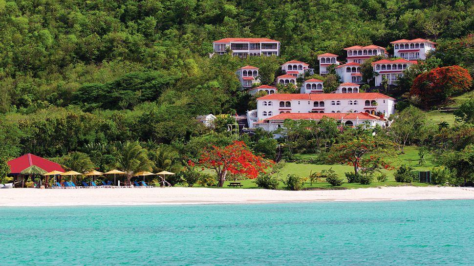 Mount Cinnamon Resort & Beach Club on the hillside of Grand Anse Beach in Grenada