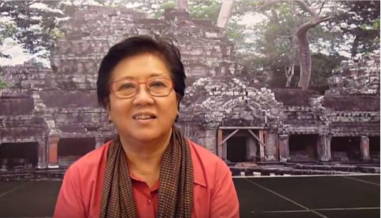 Angkor's Chau Sun Kerya said some tourists had violated the sanctity of the temple comple
