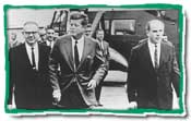President JFK was highly supportive of Nelson's original street-action idea