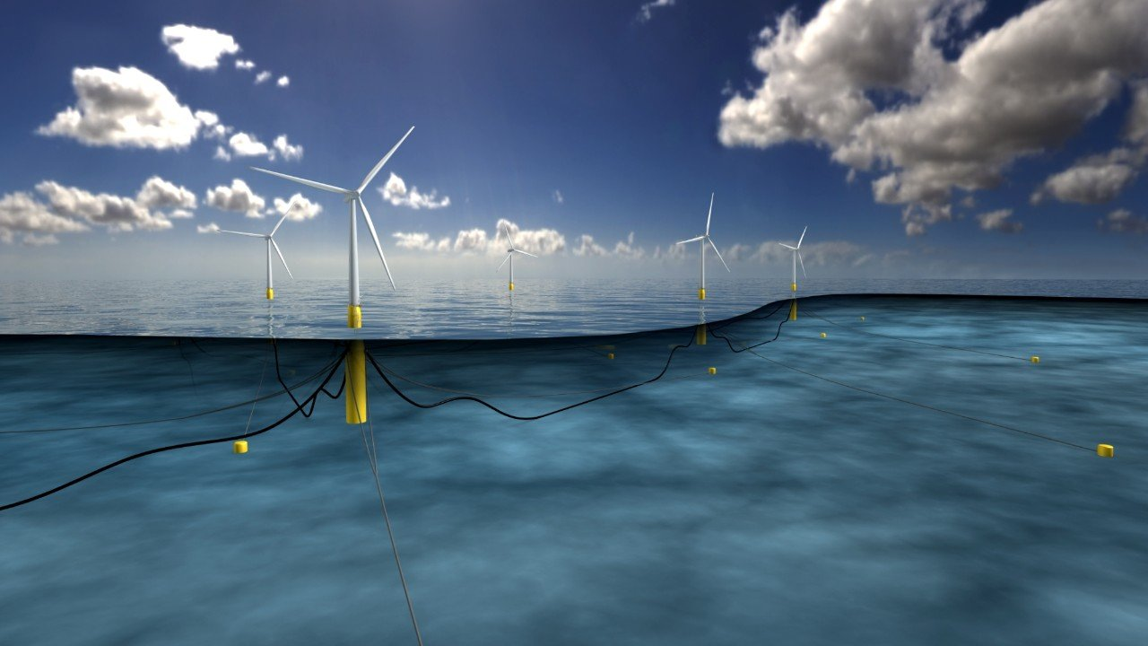 Statoil's Hywind floating farm off Scottish town Peterhead can power up 22,000 households.