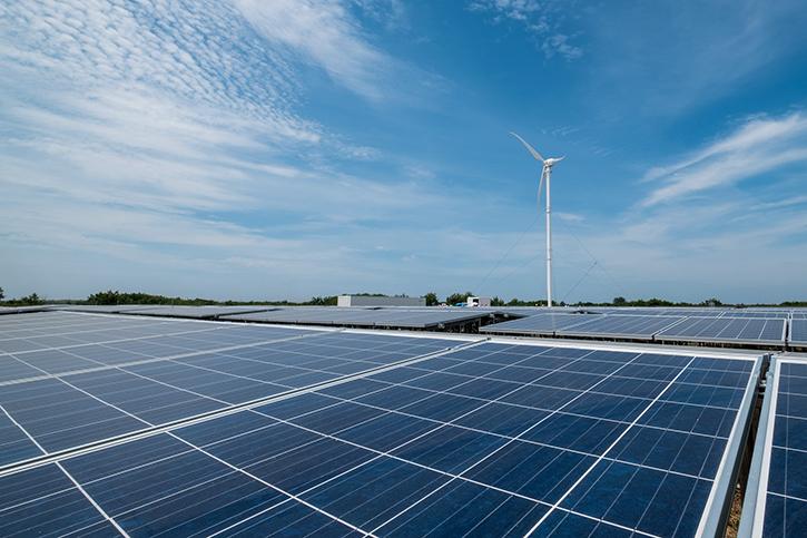 © NTU Media News Release - Hybrid Microgrids with 14-storey high wind turbine at Semakau Landfill