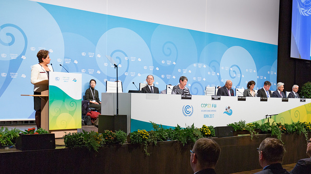 Patricia Esponasa, Executive Secretary of the United Nations Framework Convention on Climate Change, urged global leaders to further the momentum built at the Rio Earth Summit 25 years ago.