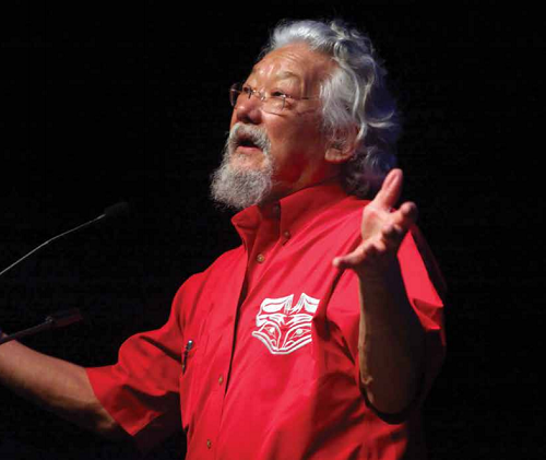 """""""SLF...has given me a renewed direction of what we need to do"""" - David Suzuki. Courtesy SLF."""